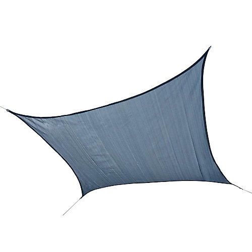 12 ft. Square Sun Shade Sail in Sea Blue