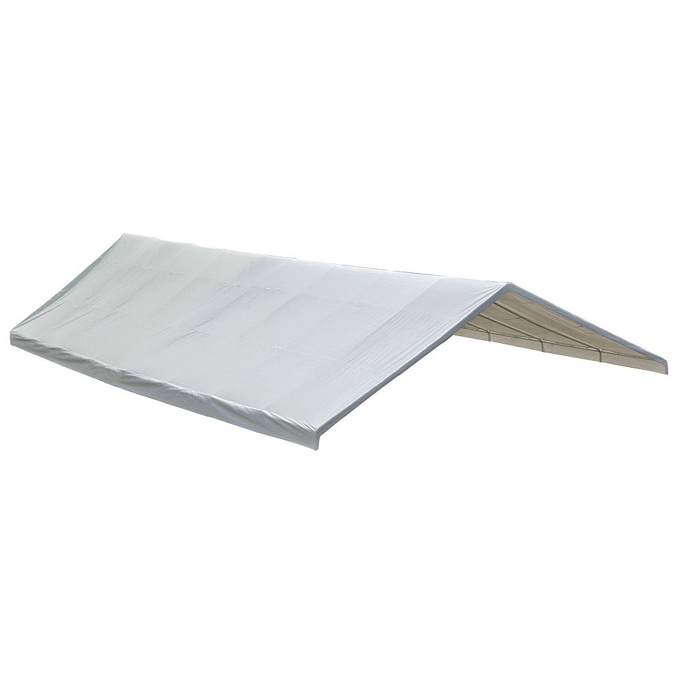 ShelterLogic 30 ft. x 40 ft. Canopy Replacement Cover in White