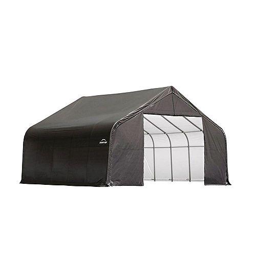 ShelterCoat 28 x 20 ft. Garage Peak Gray STD