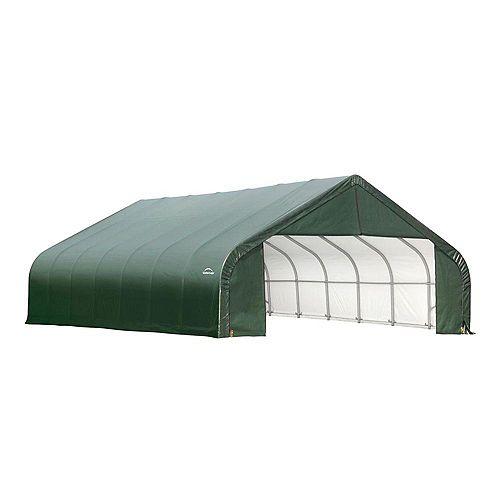ShelterCoat 28 x 24 ft. Garage Peak Green STD