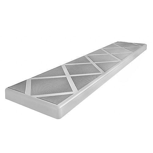 Composite 48 inch Grey Anti-Slip Step