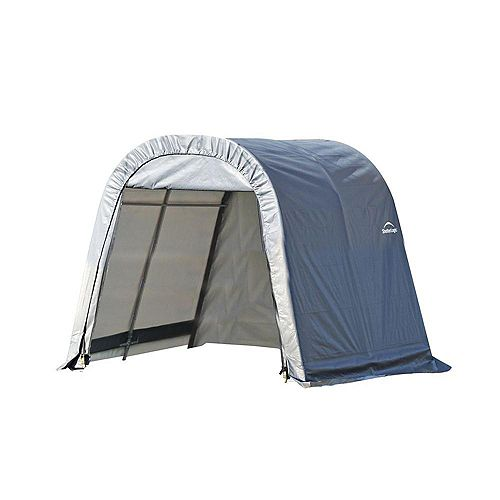 ShelterCoat 11 x 12 ft. Wind and Snow Rated Garage Round Gray STD
