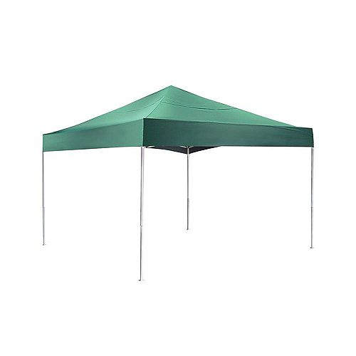 Pro 12 ft. x 12 ft. Green Pop-Up Canopy