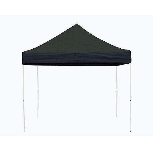 Pro 10 ft. x 10 ft. Black Straight Leg Pop-Up Canopy