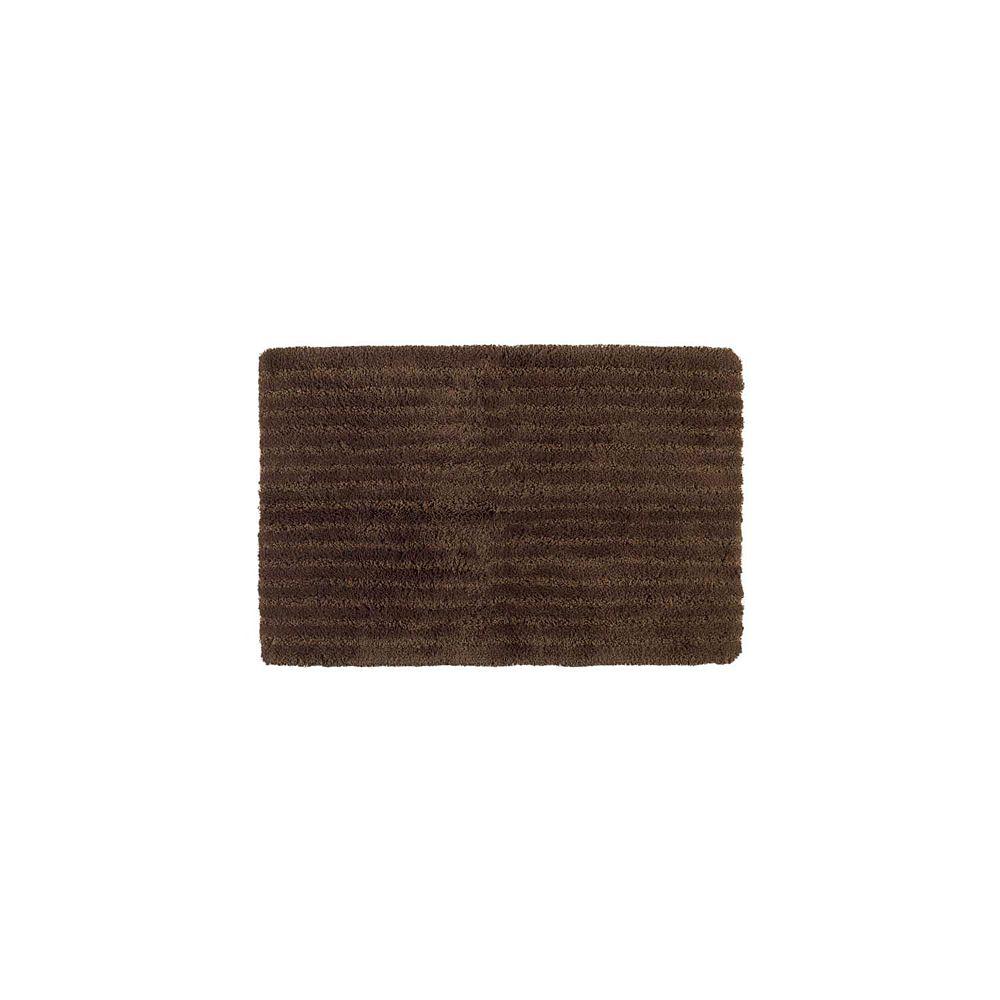 Shaw Living Saville Cocoa 24 Inch x 40 Inch Bath Rug