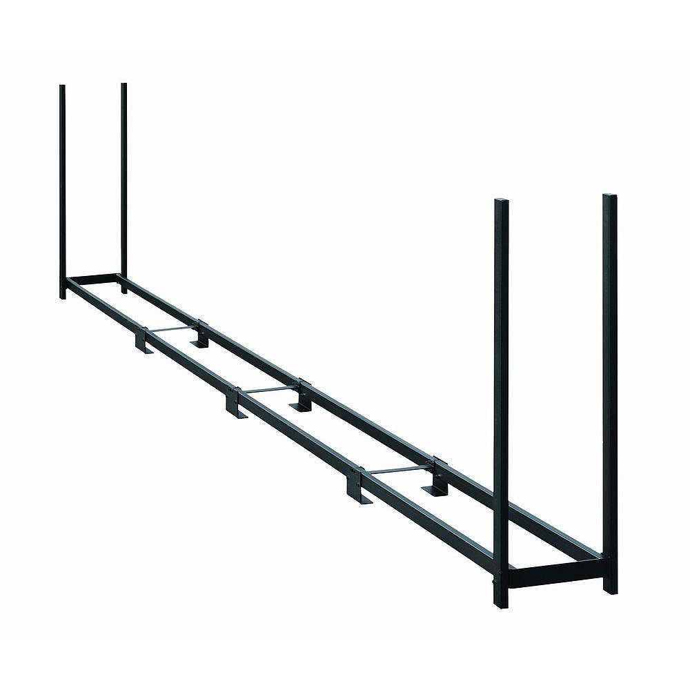 ShelterLogic Firewood Rack-in-a-Box de service très intensif, 16 pi