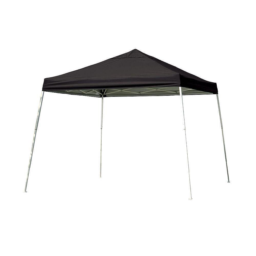 ShelterLogic Sport 12 ft. x 12 ft. Pop-Up Canopy Slant Leg, Black Cover with Storage Bag