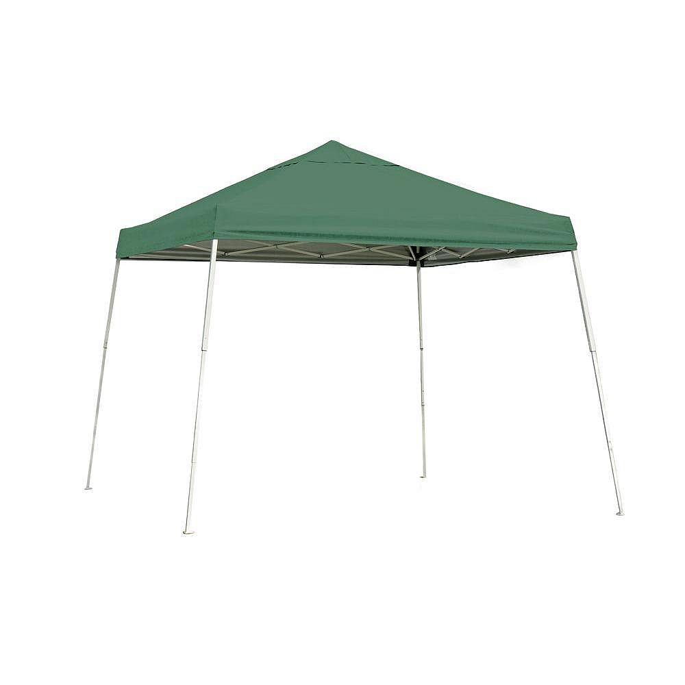 ShelterLogic Sport 10 ft. x 10 ft. Green Slant Leg Pop-Up Canopy