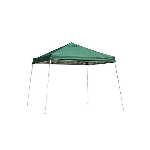 12 ft. x 12 ft. Sport Slant Leg Popup Canopy in Green
