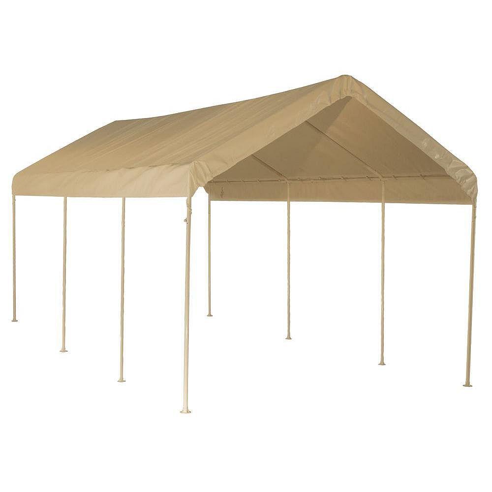 ShelterLogic 10 x 20 Tan Canopy