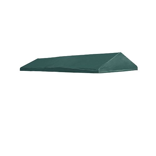 10 x 20 Green Polyester Replacement Cover - Fits 1 3/8 Inch Frame