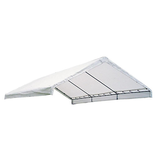 Super Max 18 ft. x 20 ft. Premium Canopy Replacement Cover in White