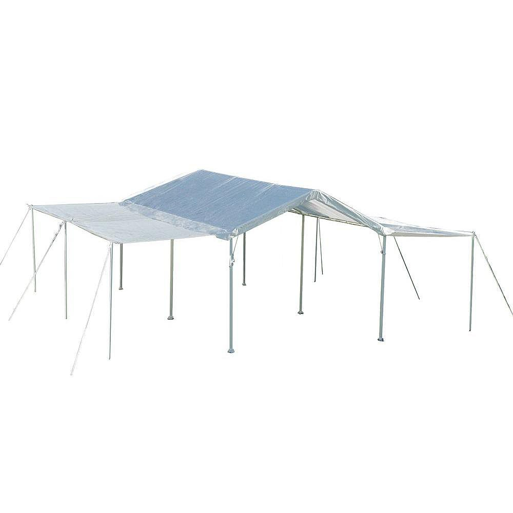 ShelterLogic Max AP 10 ft. x 20 ft. White Canopy Extension Kit