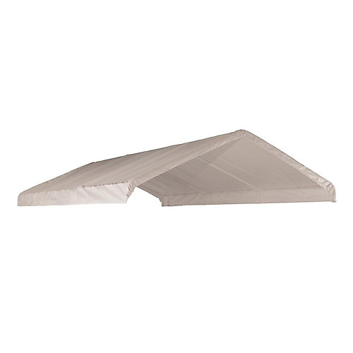 12 ft. x 20 ft. Canopy Replacement Cover in White