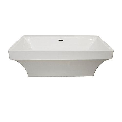 Beacon 2-Piece Acrylic Freestanding Bathtub