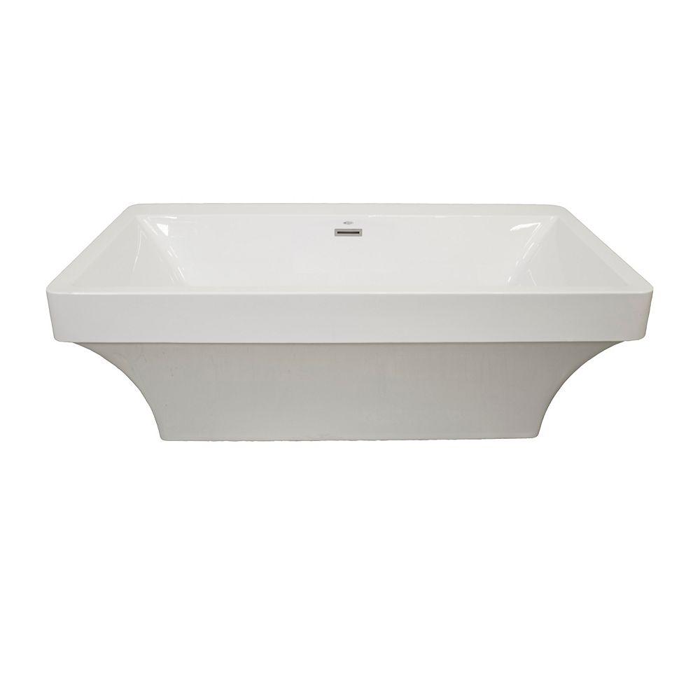 Mirolin Beacon 2-Piece Acrylic Freestanding Bathtub