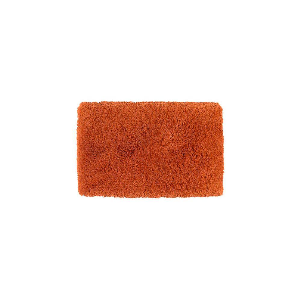 Shaw Living Sassy Shag Mango 21 Inch x 34 Inch Bath Rug