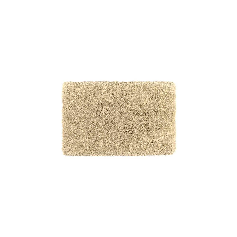 Shaw Living Sassy Shag Flax 17 Inch x 24 Inch Bath Rug