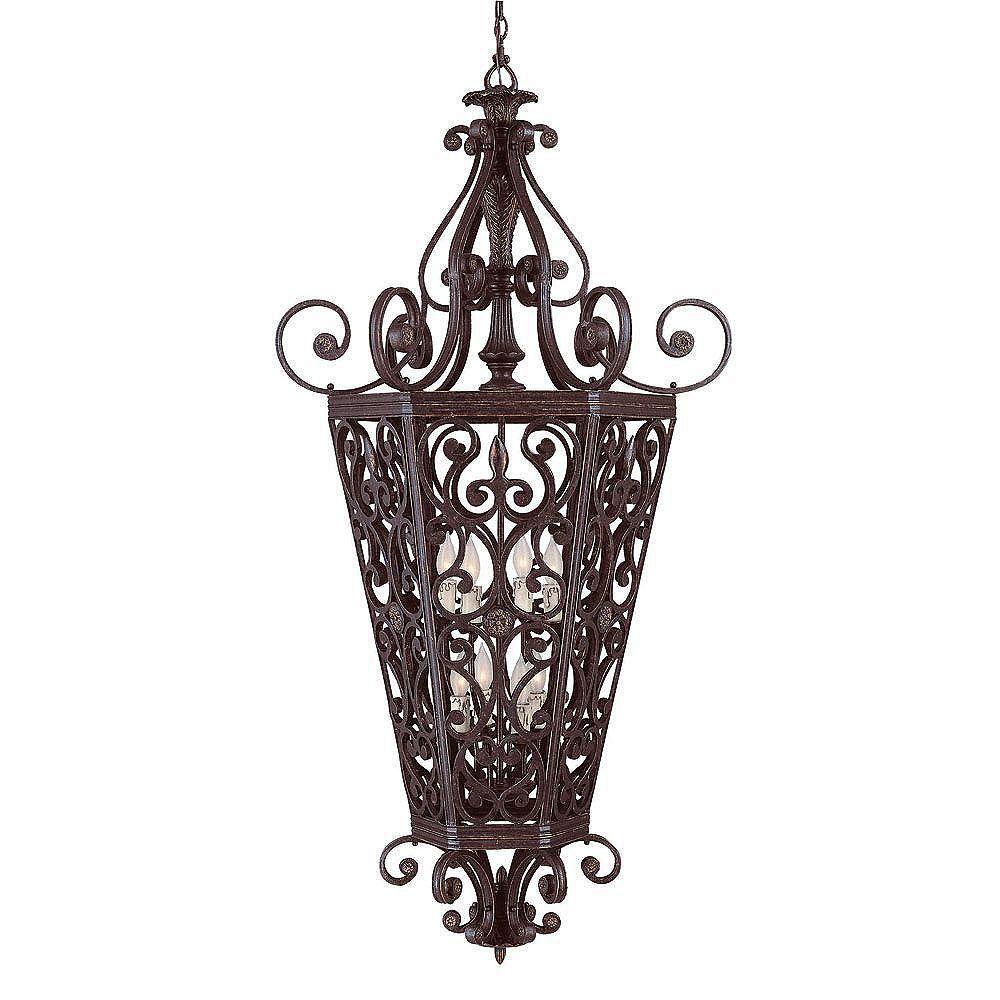 Illumine Satin 8 Light Bronze Incandescent Pendant