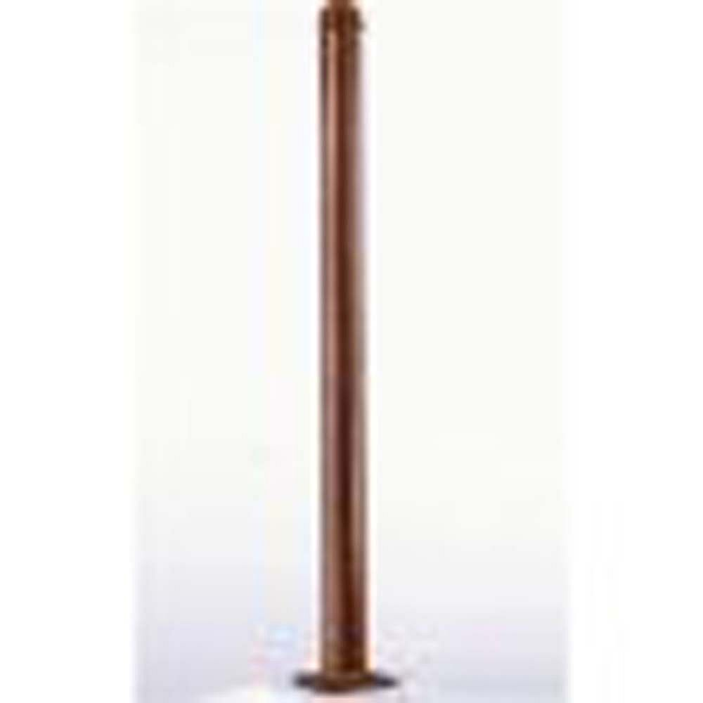 Illumine Satin 4 Light Bronze Incandescent Outdoor Post
