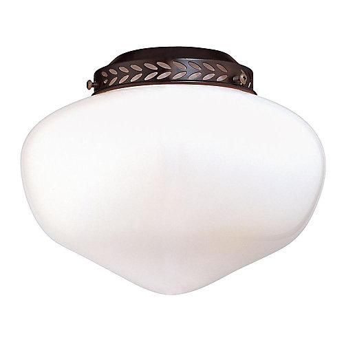 Trousse pour lumière de ventilateur Schoolhouse intérieure/extérieure