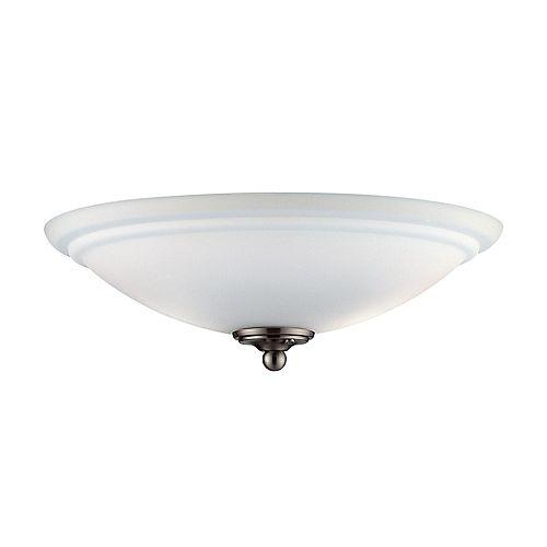 Illumine Appareil d'éclairage avec abat-jour blanc couleur en argent