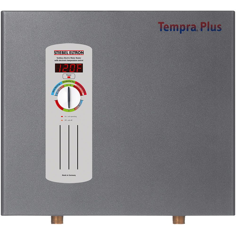 Stiebel Eltron Stiebel Eltron Tempra 12 Plus 12.0 kW Whole Home Tankless Electric Water Heater