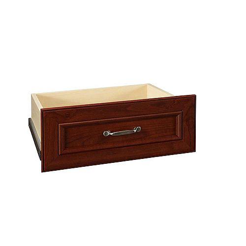 ClosetMaid Kit de tiroir de luxe en merisier foncé de 25 pouces Impressions