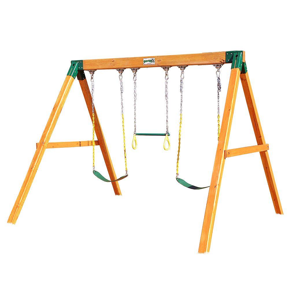 Gorilla Playsets Module de balançoires indépendant