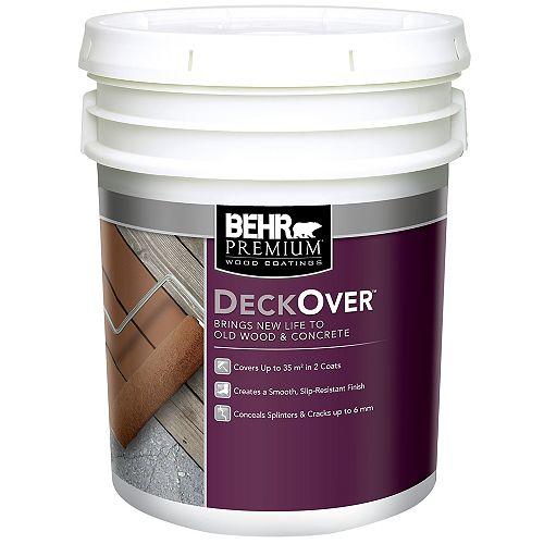 Behr Premium DECKOVER, Deep Base, 17.1 L