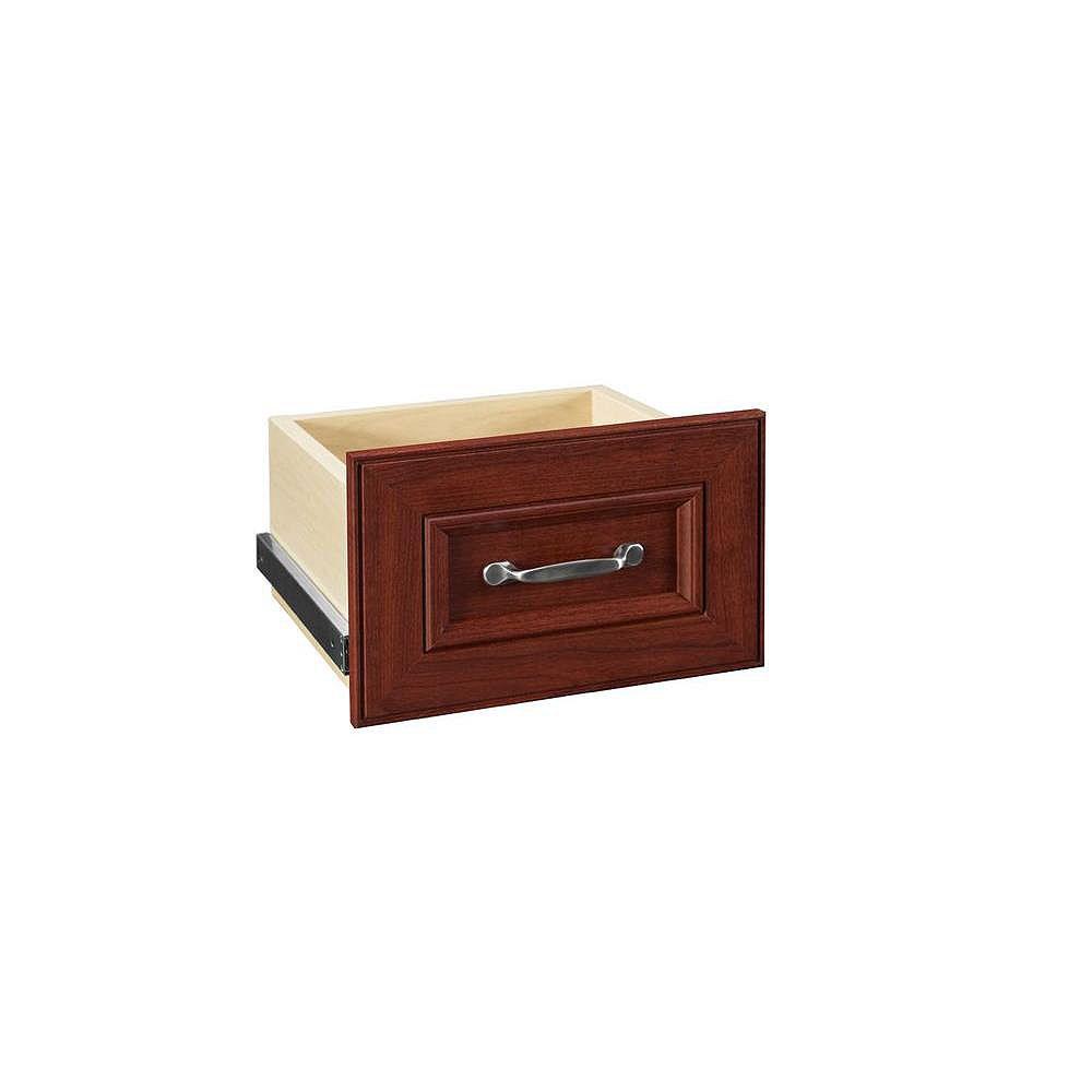 ClosetMaid Kit de tiroir étroit en cerisier foncé 16 pouces Impressions