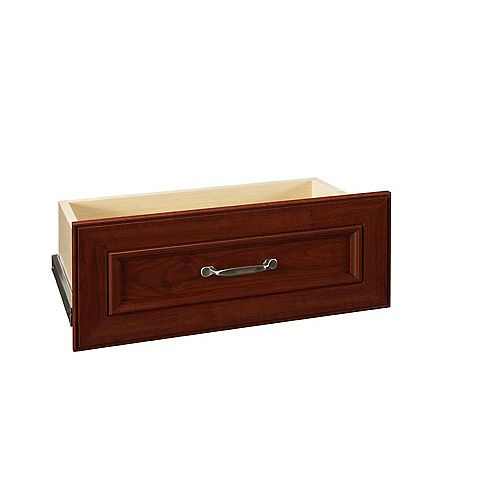 ClosetMaid Impressions 25-inch Dark Cherry Standard Drawer Kit