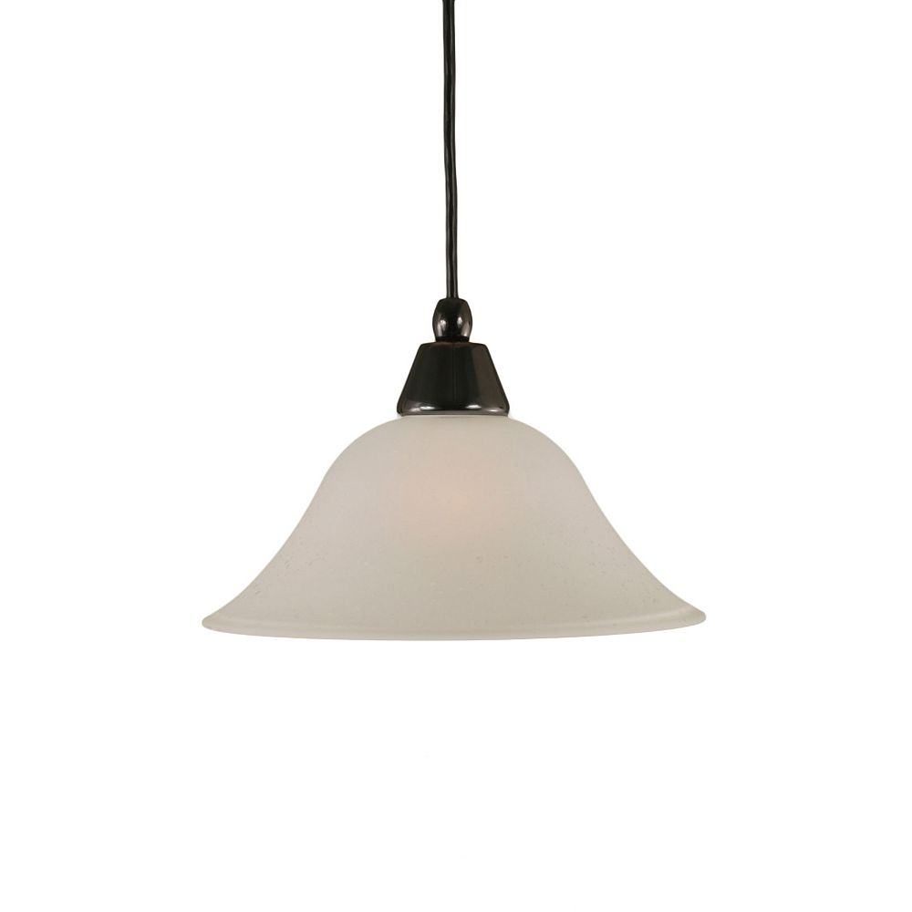 Filament Design Concord 1-Light Ceiling Black Copper Pendant with a Dew Drop Glass