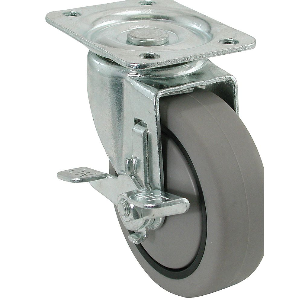Everbilt 3 inch Swivel Heavy Duty TPR Caster