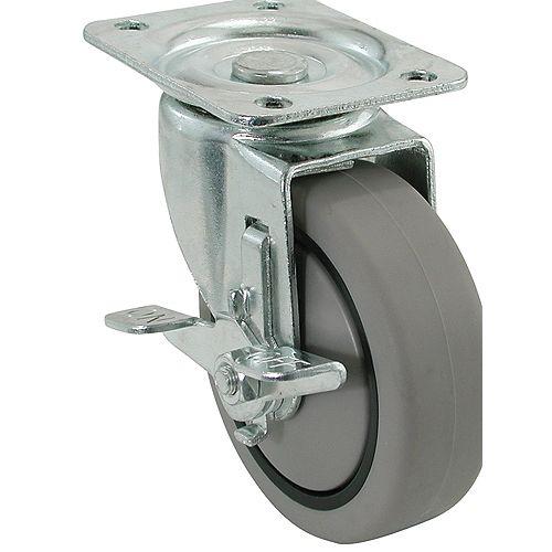 3 inch Swivel Heavy Duty TPR Caster
