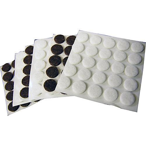 3/8-inch Self-Adhesive Felt Pads (150 per Pack)