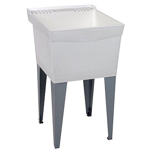 Utilatub Laundry Tub Floor Mount 20-inch x 24 Inch