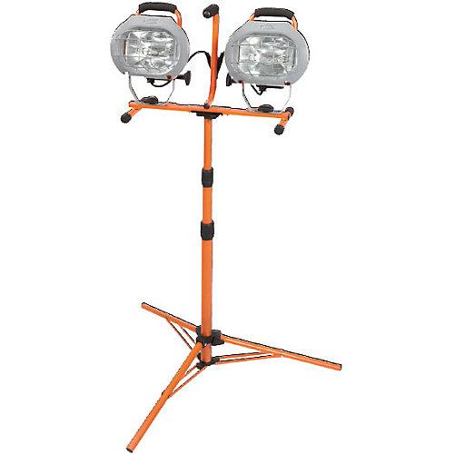 1000W Halogen Twin-Head Tripod Work Light