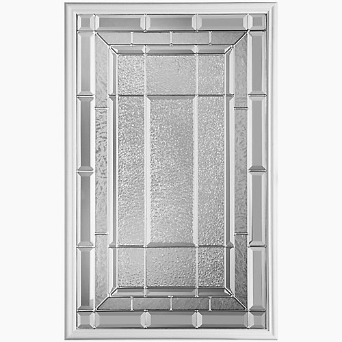 Sequence 22-inch x 36-inch Nickel Glass Insert