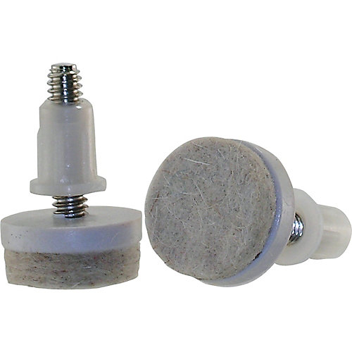 1-inch Threaded Stem Furniture Glides with Felt Base (4 per Pack)