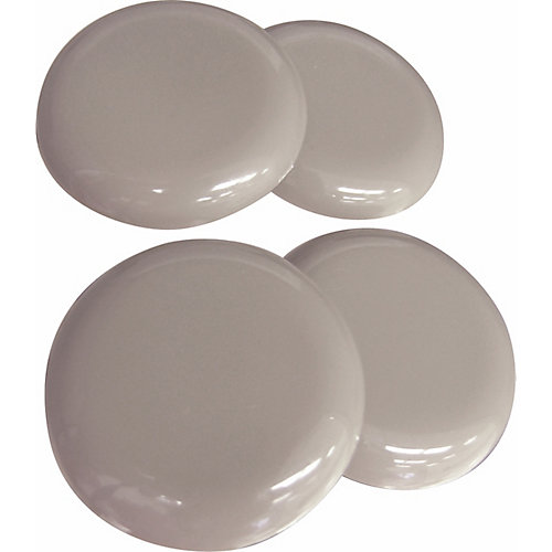 2-1/2 inch Low Friction Slider Pads (4-Pack)