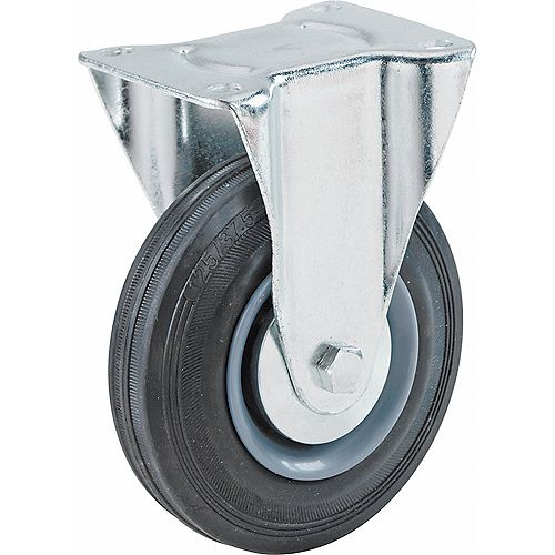 Everbilt 3 inch x 1-1/4 inch Swivel Medium Duty Caster with 180 lb. Load Rating