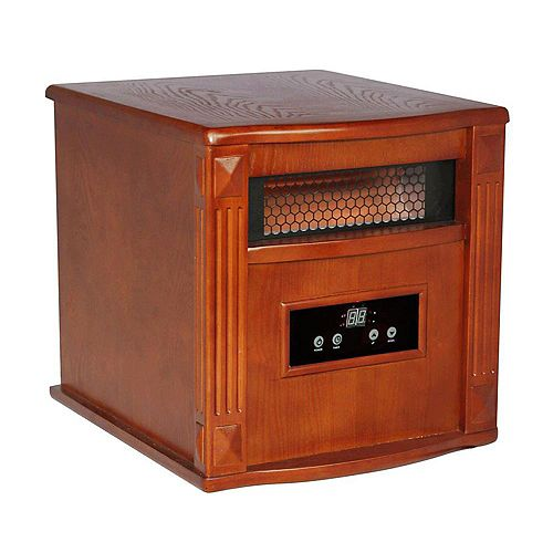 Gold Portable Infrared Heater  - Tuscan