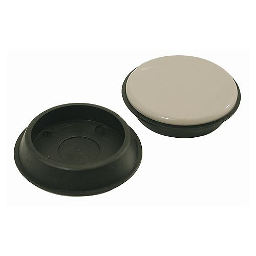 1-3/4 inch Low Friction Furniture Cups (4-Pack)