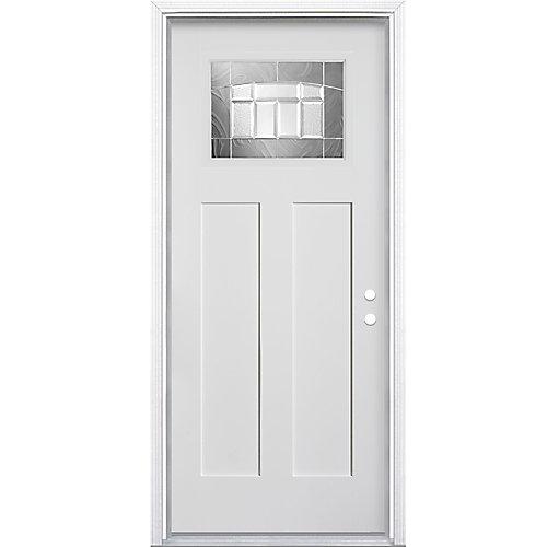 Croxley 32-inch x 4 9/16-inch Fibreglass Smooth Left-Hand Entry Door - ENERGY STAR®