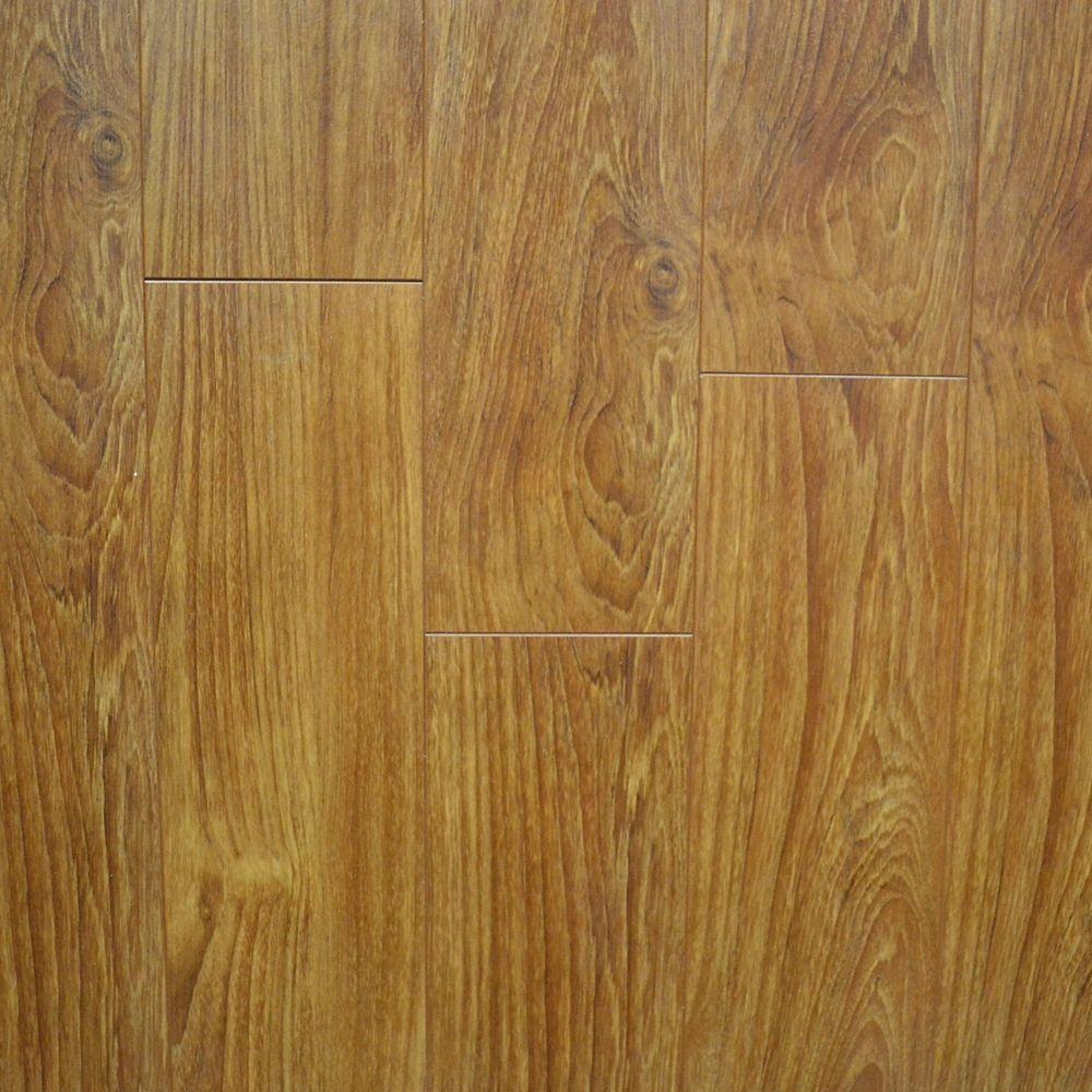 5 Inch W Light Walnut Laminate Flooring