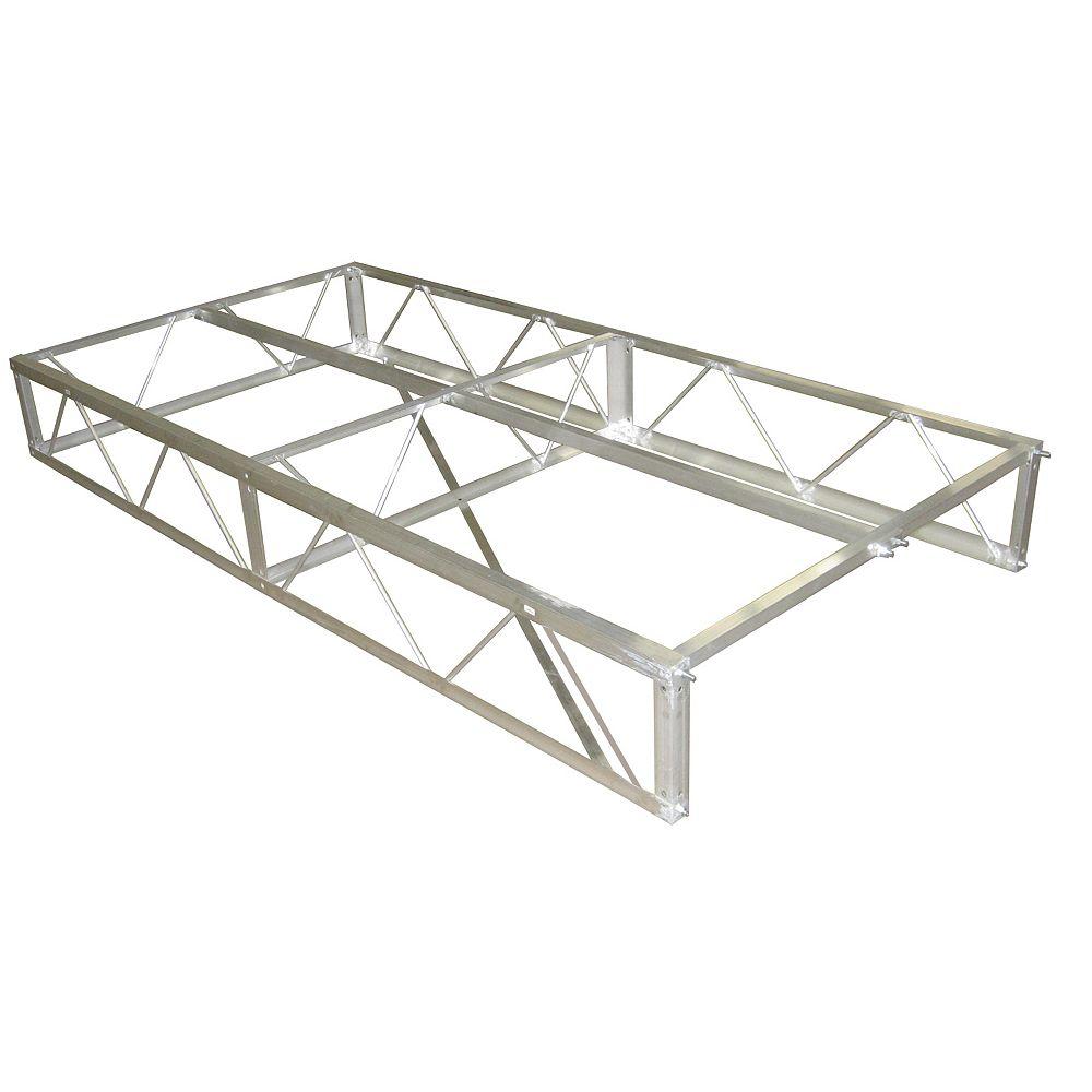 Patriot Docks 4 ft. x 8 ft. Aluminum Dock Frame Assembly