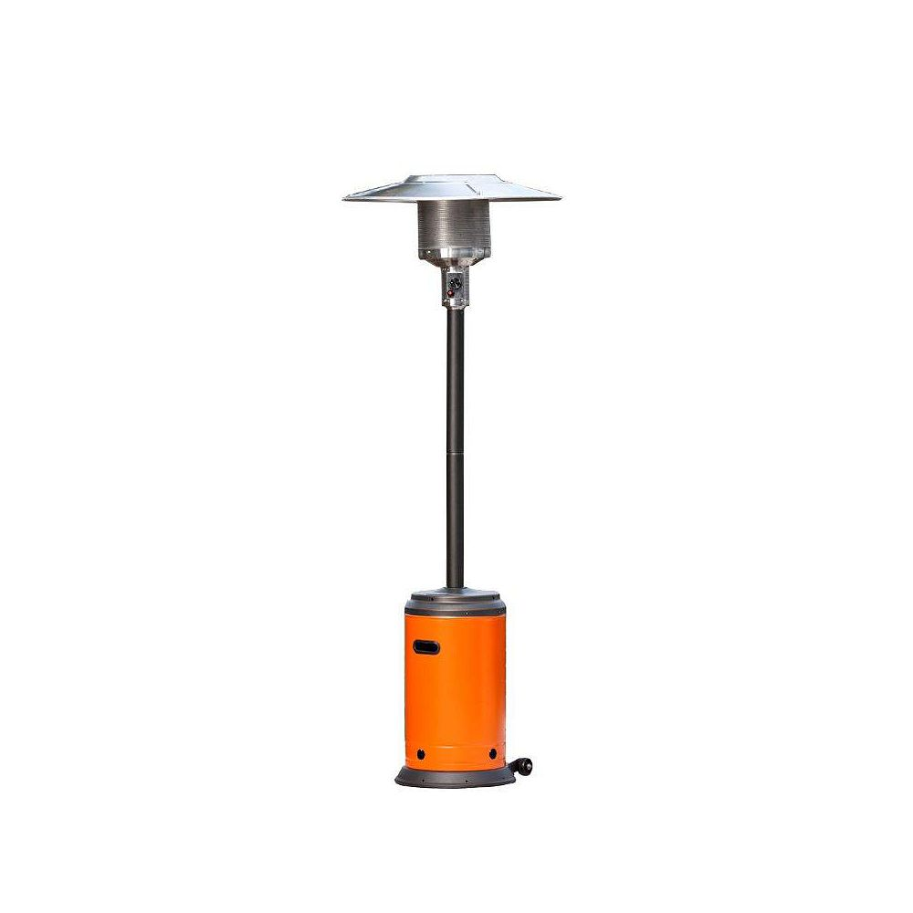 Paramount Full Size Patio Heater in Tuscan Orange and Mocha