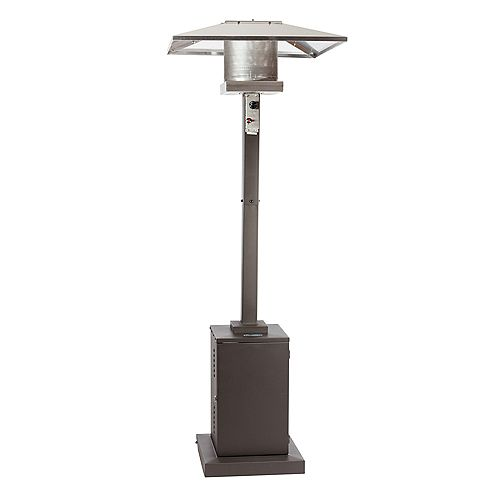 7.5 ft. Propane Patio Heater in Bronze