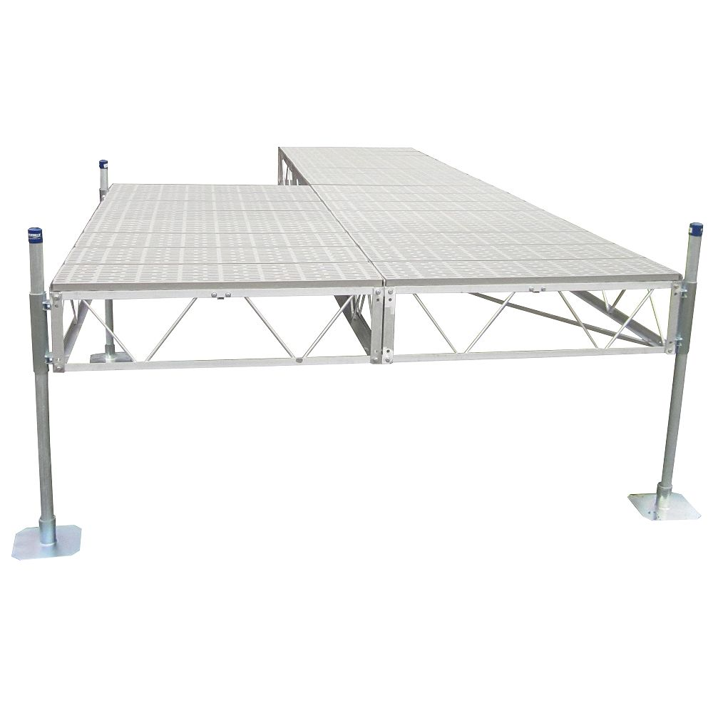Patriot Docks 16 ft. Patio Dock with Poly Decking